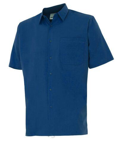 Velilla 531 Camisa Manga Corta Azul Marino