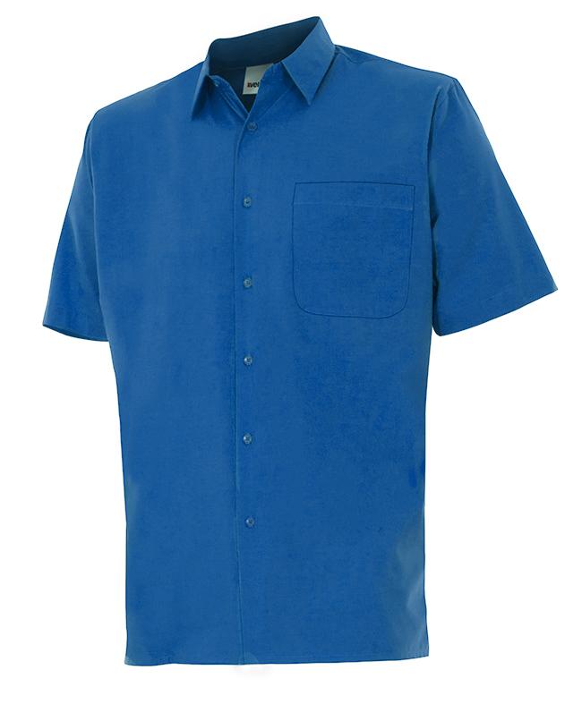 Velilla 531 Camisa Manga Corta Azulina