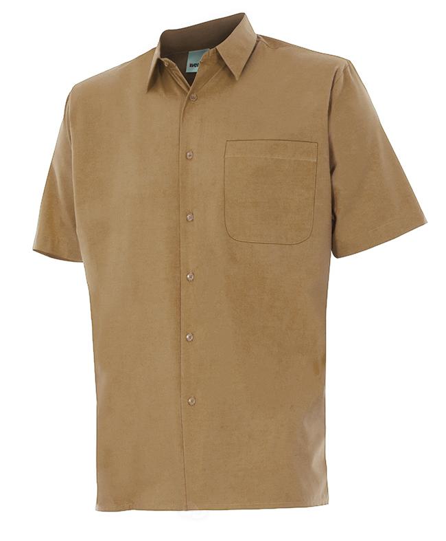 Velilla 531 Camisa Manga Corta Beige