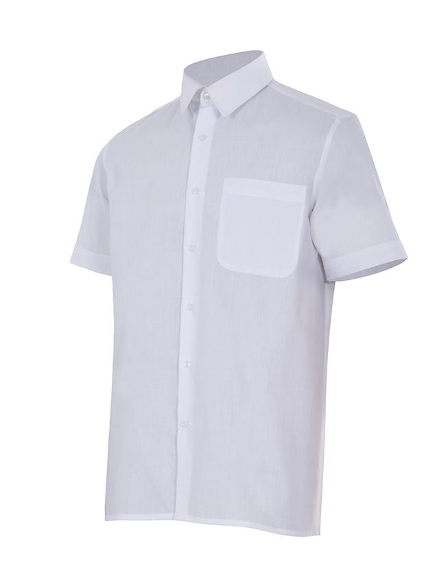 Velilla 531 Camisa Manga Corta Blanco