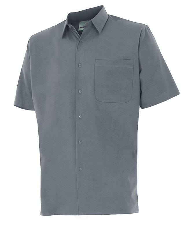 Velilla 531 Camisa Manga Corta Gris