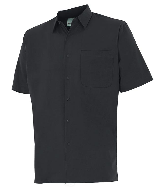 Velilla 531 Camisa Manga Corta Negro