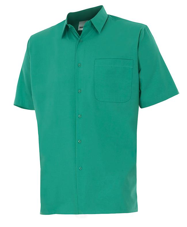 Velilla 531 Camisa Manga Corta Verde