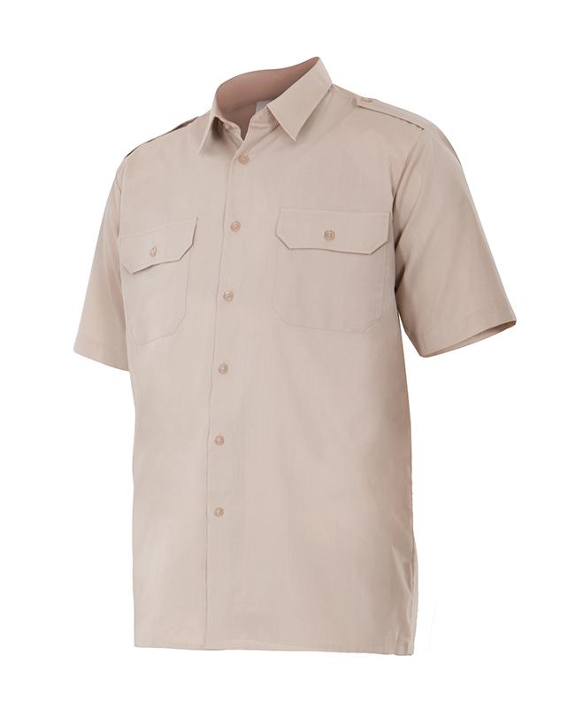 Velilla 532 Camisa Manga Corta Con Galoneras Be