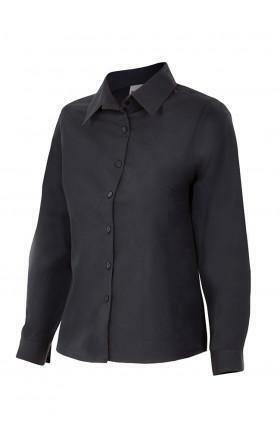 Velilla 539 Camisa Mujer Manga Larga Negro