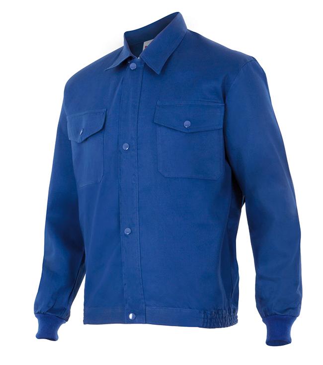Velilla 645 Cazadora 100% AlgodÓn Azul Marino