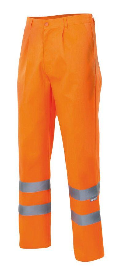 Velilla 160f PantalÓn Forrado Alta Visibilidad Naranja