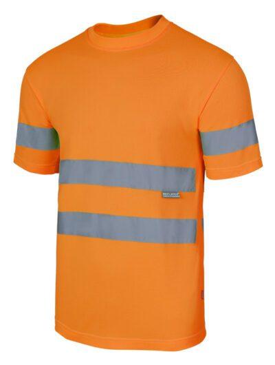 Velilla 305505 Camiseta Tecnica Alta Visibilidad Naranja