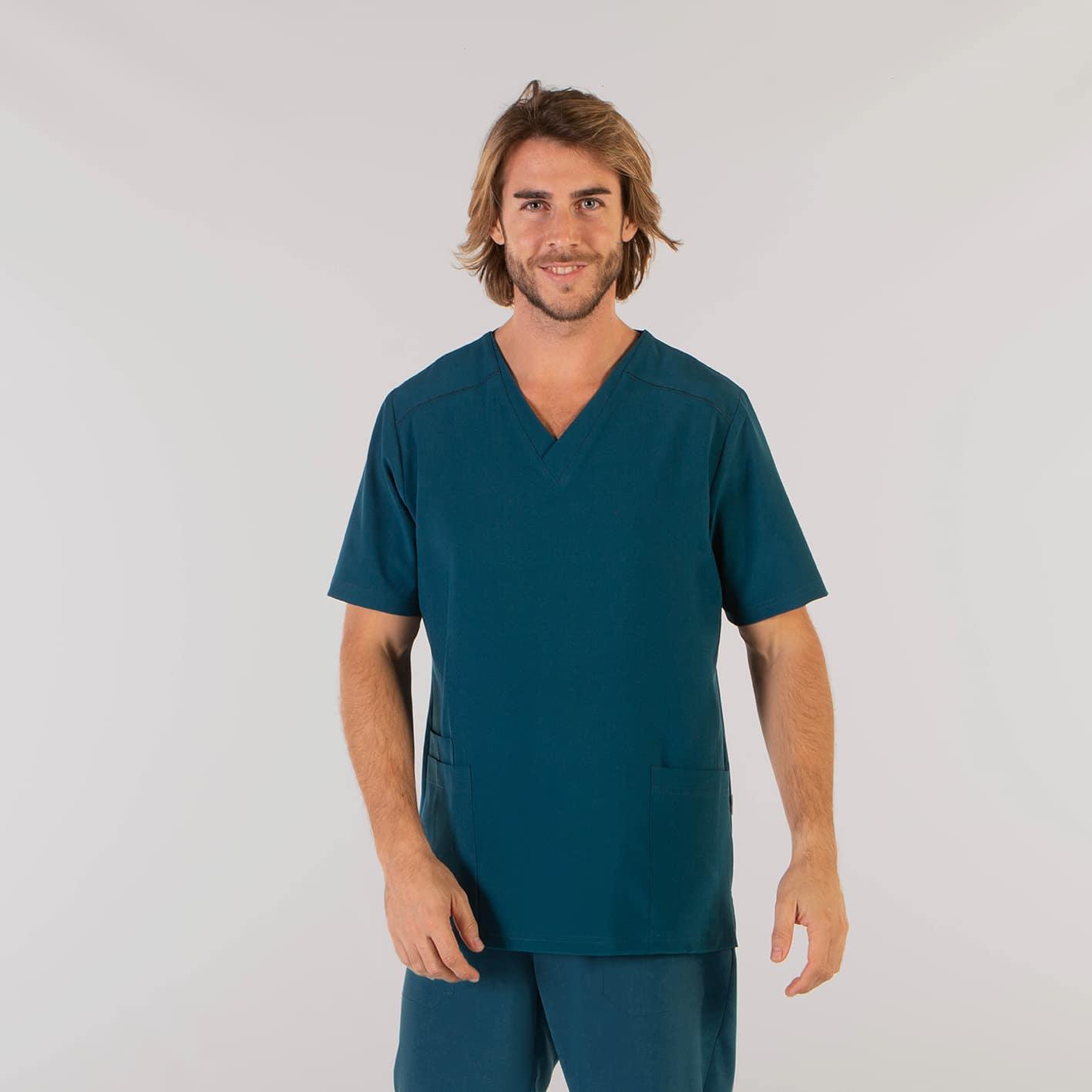 Gary´s 617500145 Camisola Sanitaria Tadeo Verde PetrÓleo