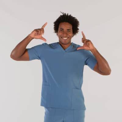 Gary´s 617500152 Camisola Sanitaria Tadeo Azul GrisÁceo