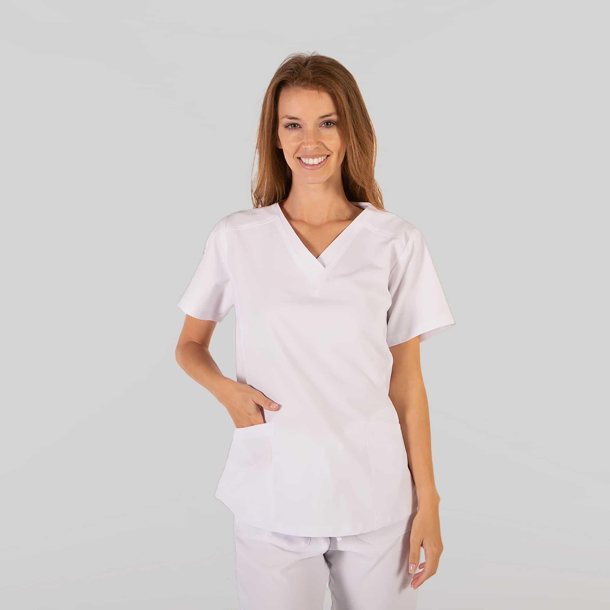 Gary´s 659600101 Blusa Sanitaria RosalÍa Blanco
