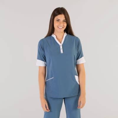 Gary´s 662100 Camisola Sanitaria Susan Azul GrisÁceo