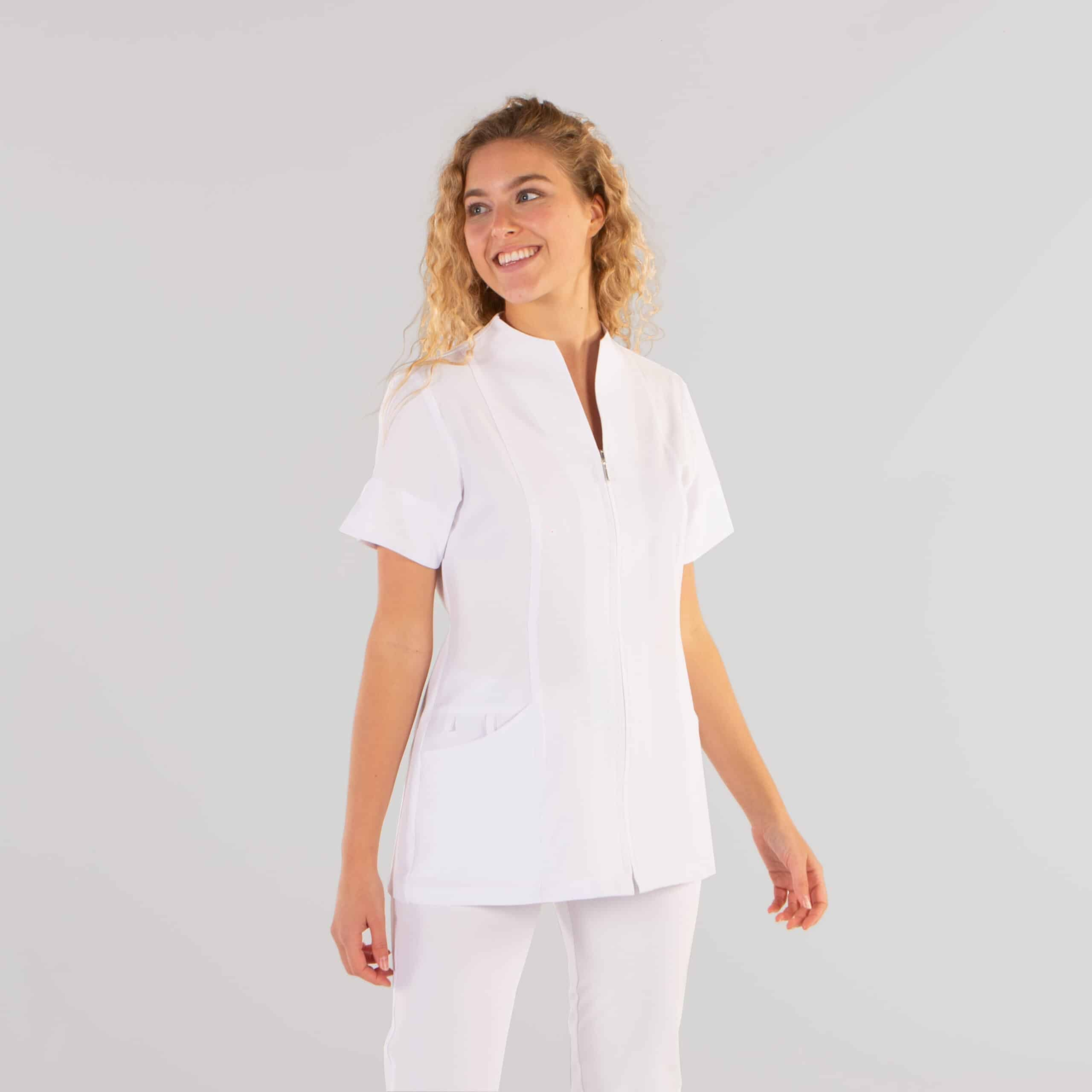Gary´s 662200 Camisola Abierta Mujer Yanira Blanco