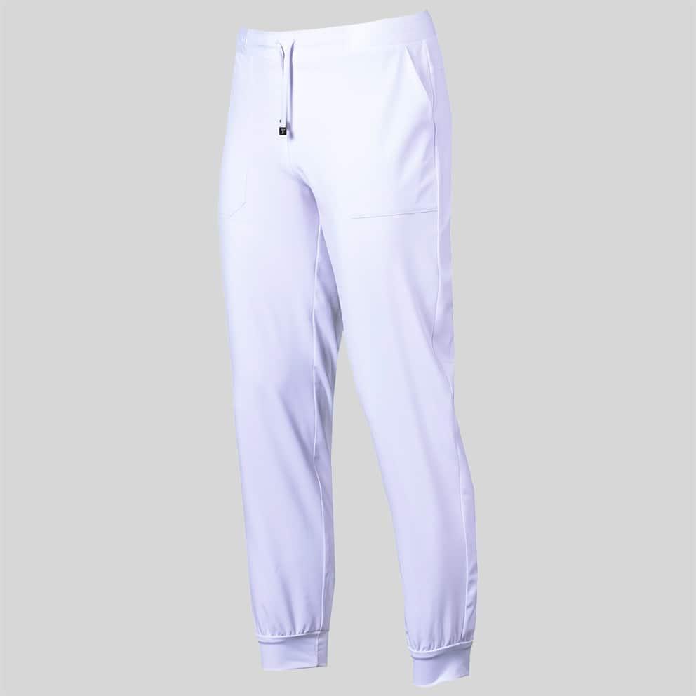 Gary´s 704700 Pantalon Unisex Jogger Blanco