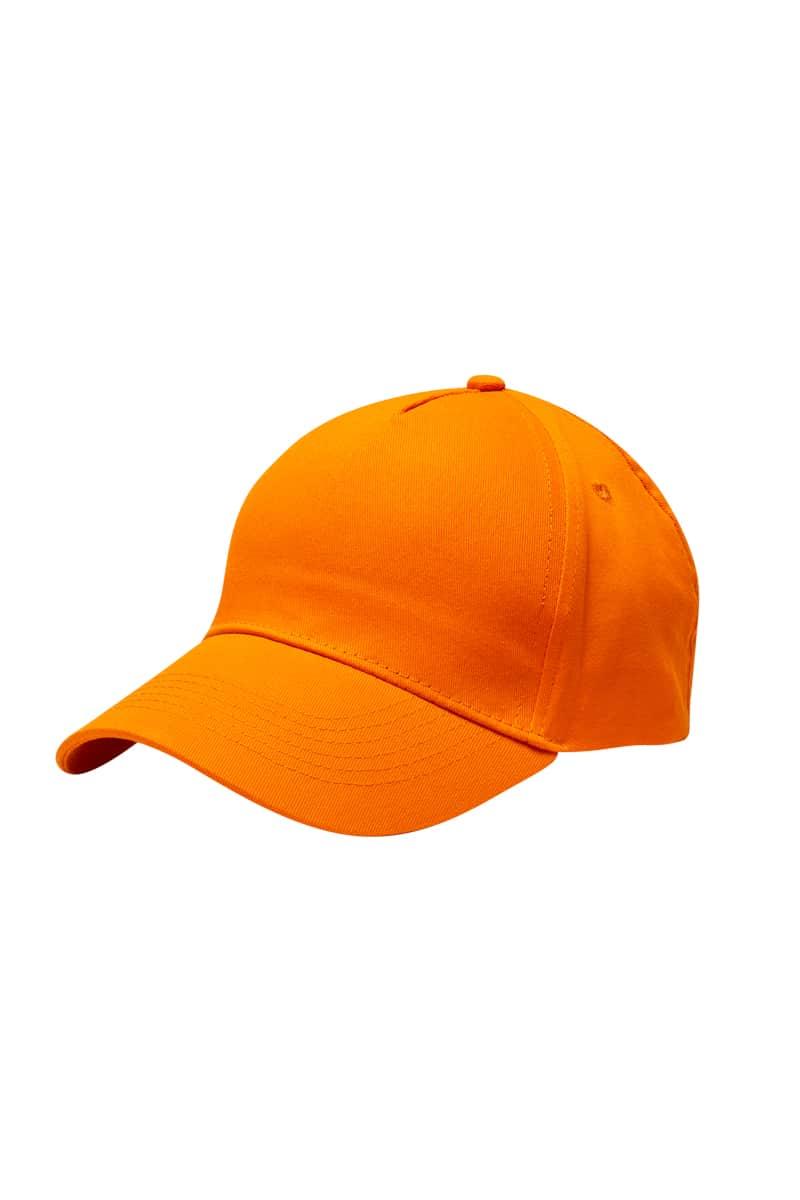 Mukua Mct300v Gorra 5 Paneles Orange 1