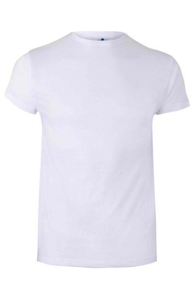 Mukua Mk020wv Camiseta Manga Corta 130gr White