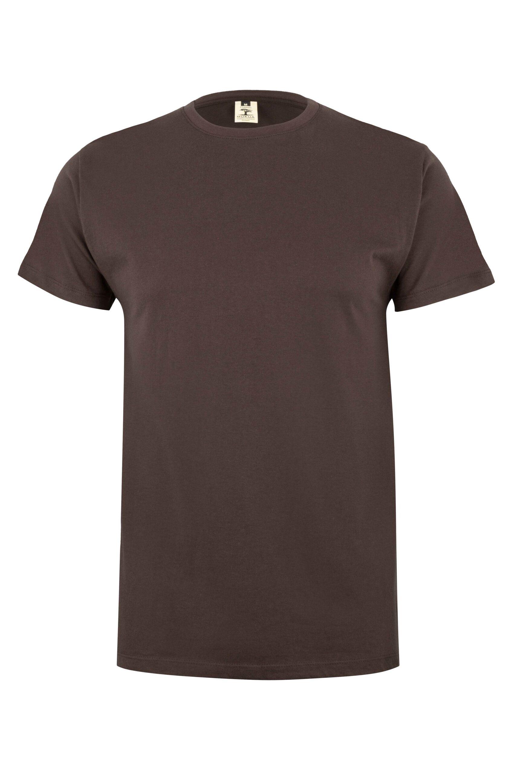Mukua Mk022cv Camiseta Manga Corta 150gr Brown