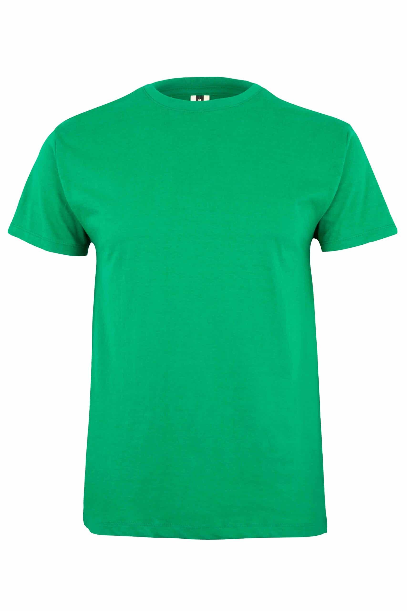 Mukua Mk022cv Camiseta Manga Corta 150gr Kelly Green