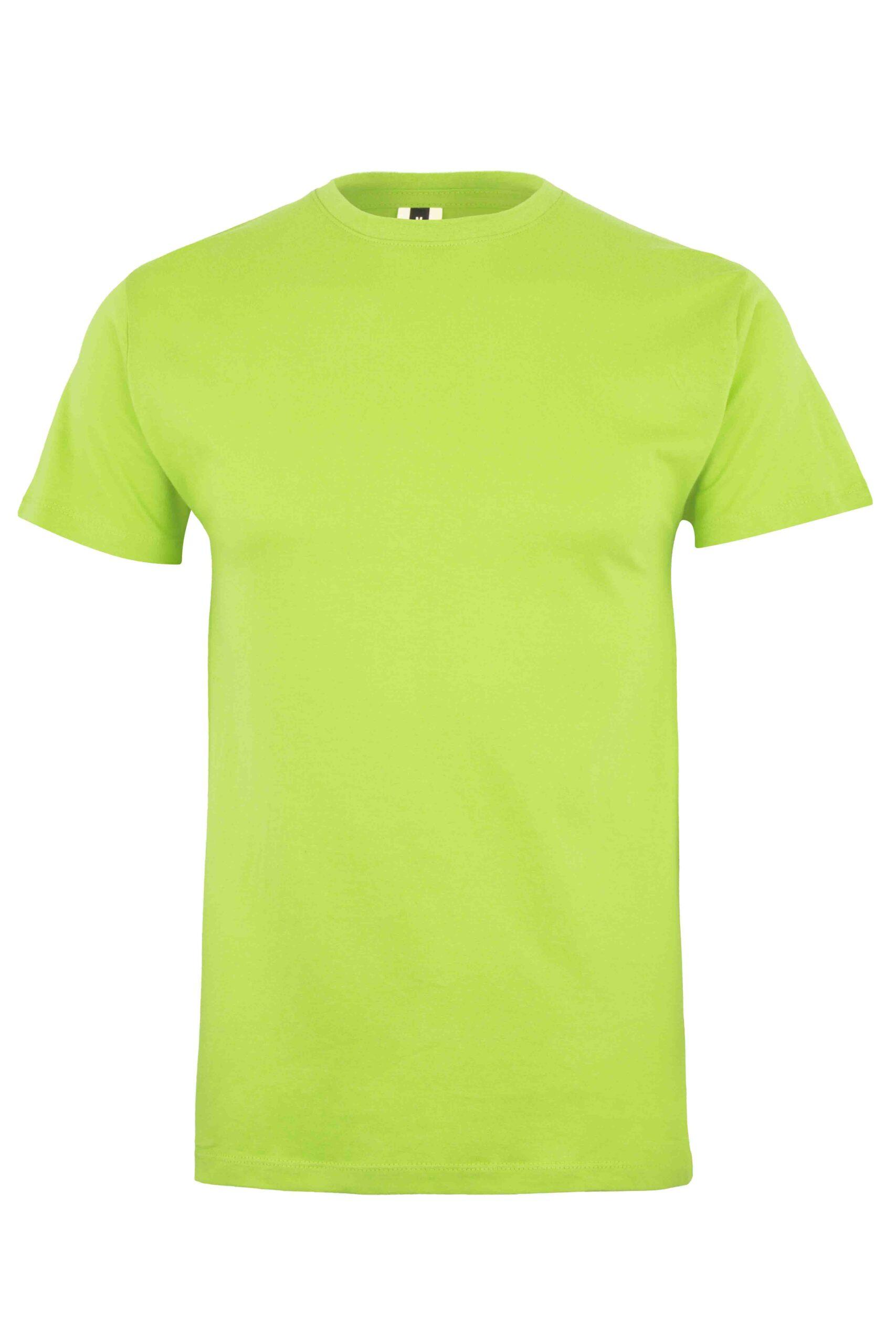 Mukua Mk022cv Camiseta Manga Corta 150gr Lime