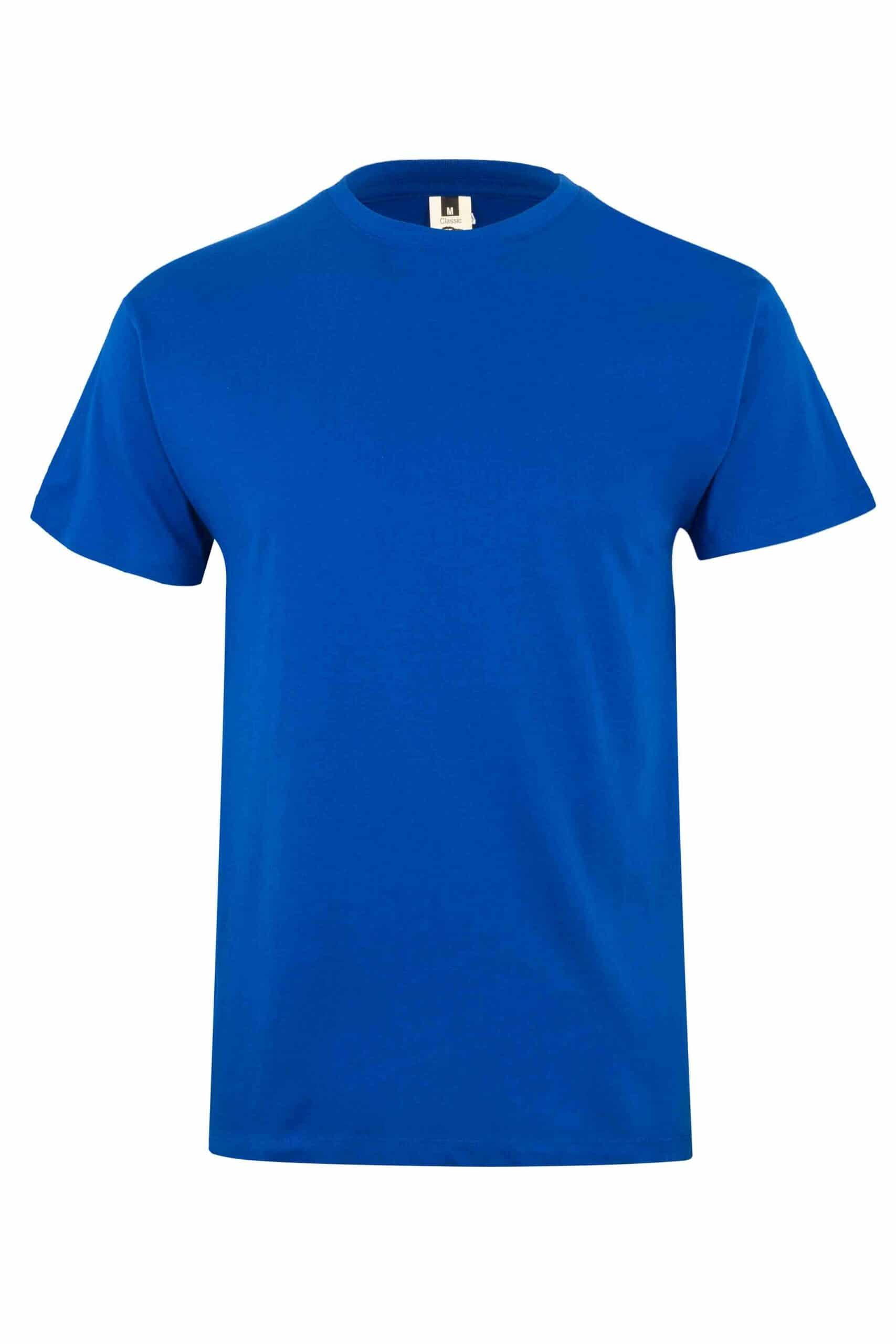 Mukua Mk022cv Camiseta Manga Corta 150gr Royal Blue