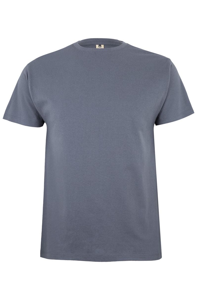 Mukua Mk023cv Camiseta Manga Corta Color 190gr Dark Grey