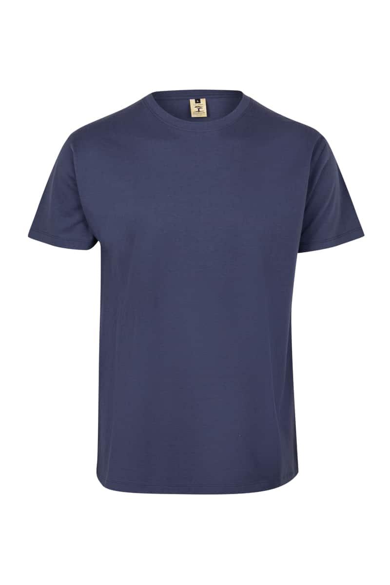 Mukua Mk023cv Camiseta Manga Corta Color 190gr Denim Blue