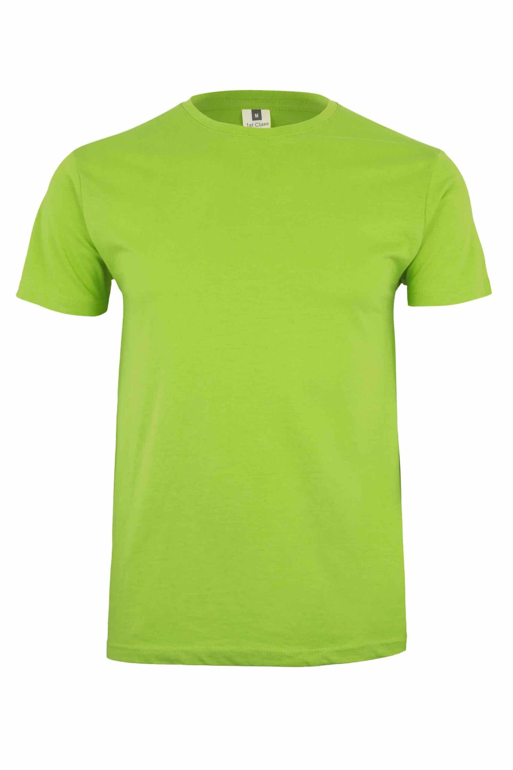 Mukua Mk023cv Camiseta Manga Corta Color 190gr Lime