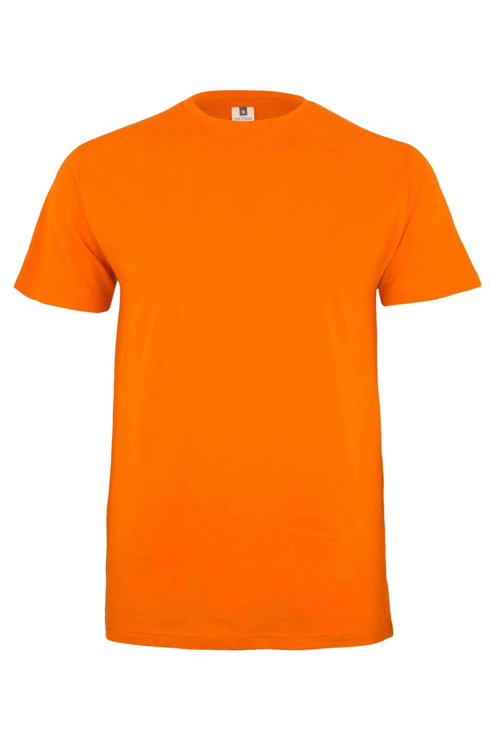 Mukua Mk023cv Camiseta Manga Corta Color 190gr Orange