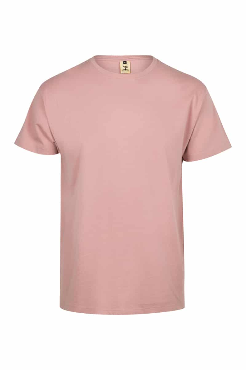 Mukua Mk023cv Camiseta Manga Corta Color 190gr Pale Rose