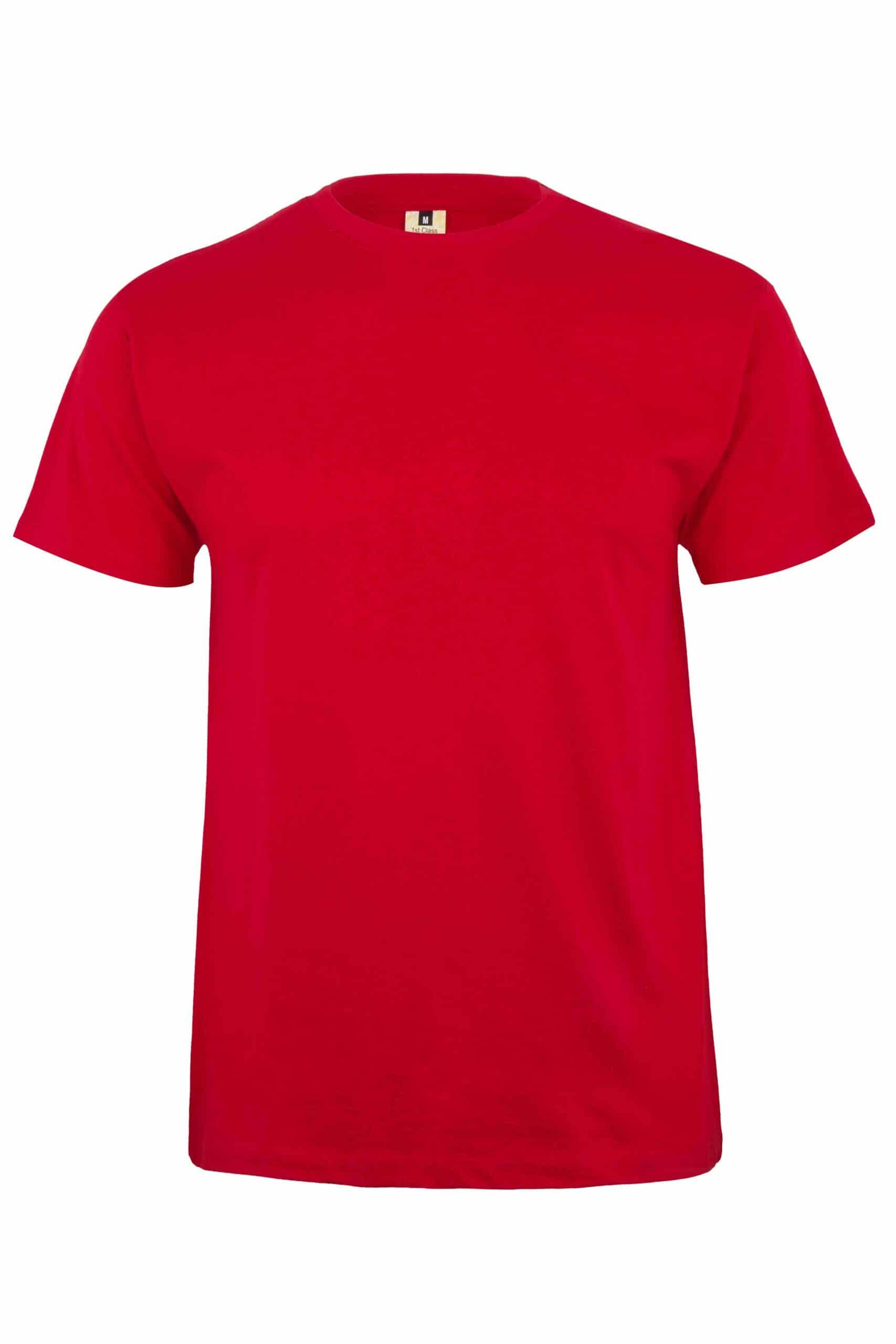 Mukua Mk023cv Camiseta Manga Corta Color 190gr Red