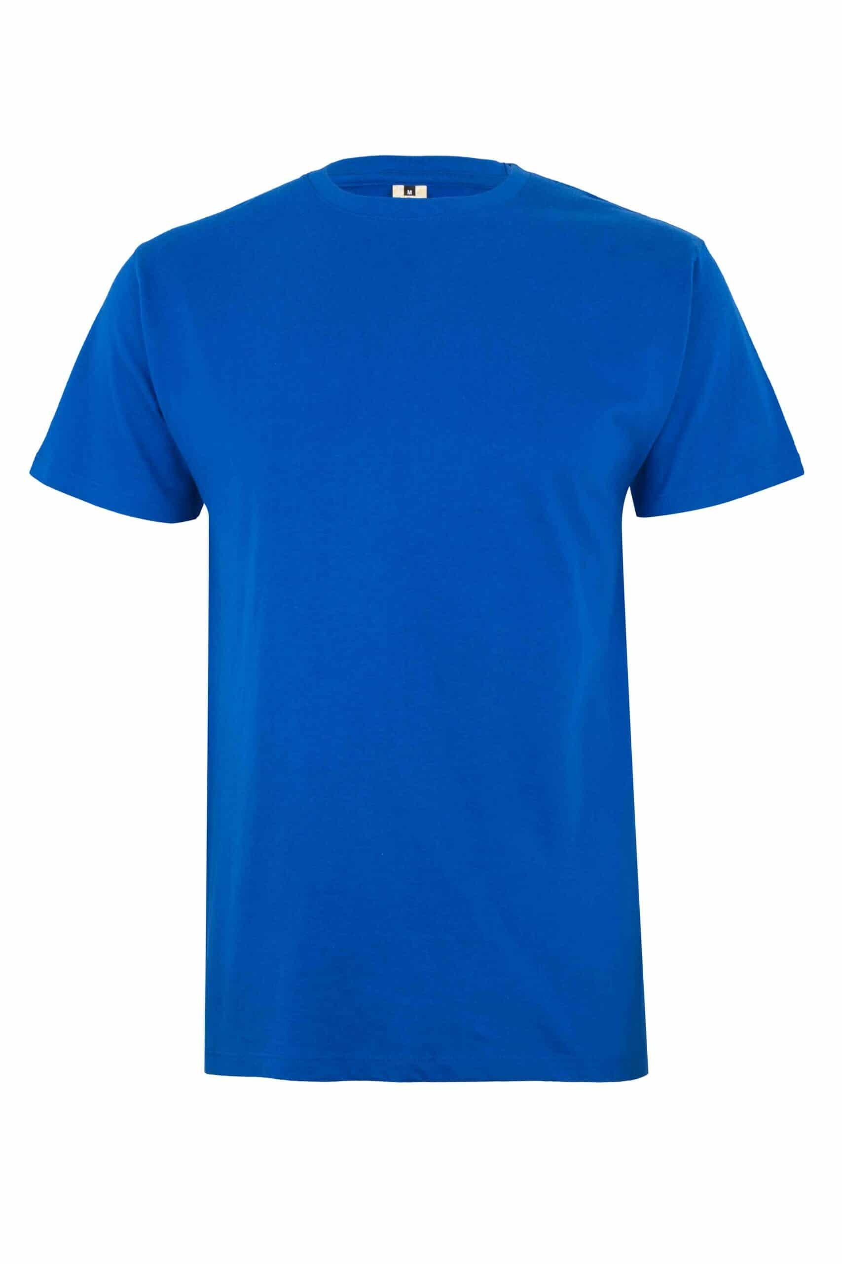 Mukua Mk023cv Camiseta Manga Corta Color 190gr Royal Blue