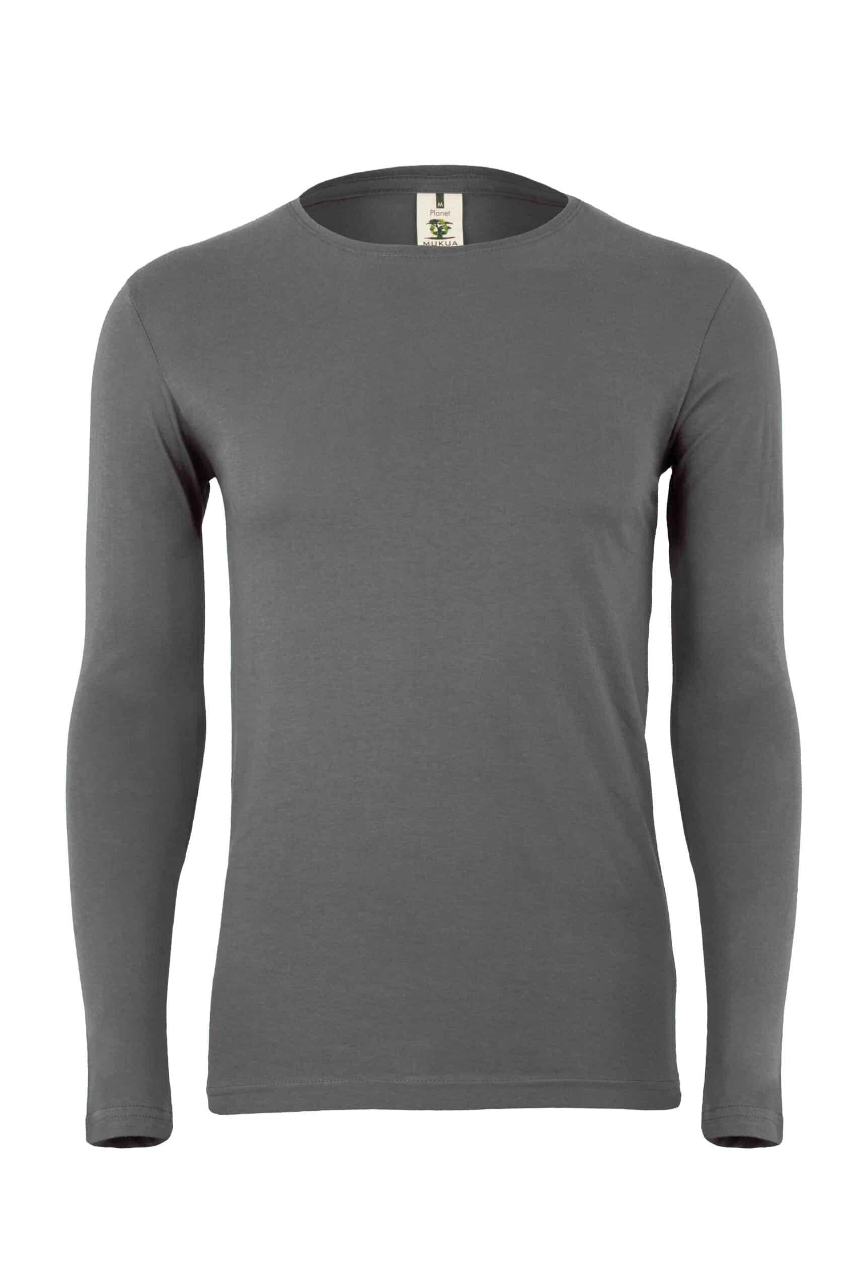 Mukua Mk156cv Camiseta Manga Larga 150gr Dark Grey