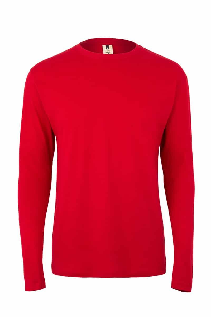Mukua Mk156cv Camiseta Manga Larga 150gr Red