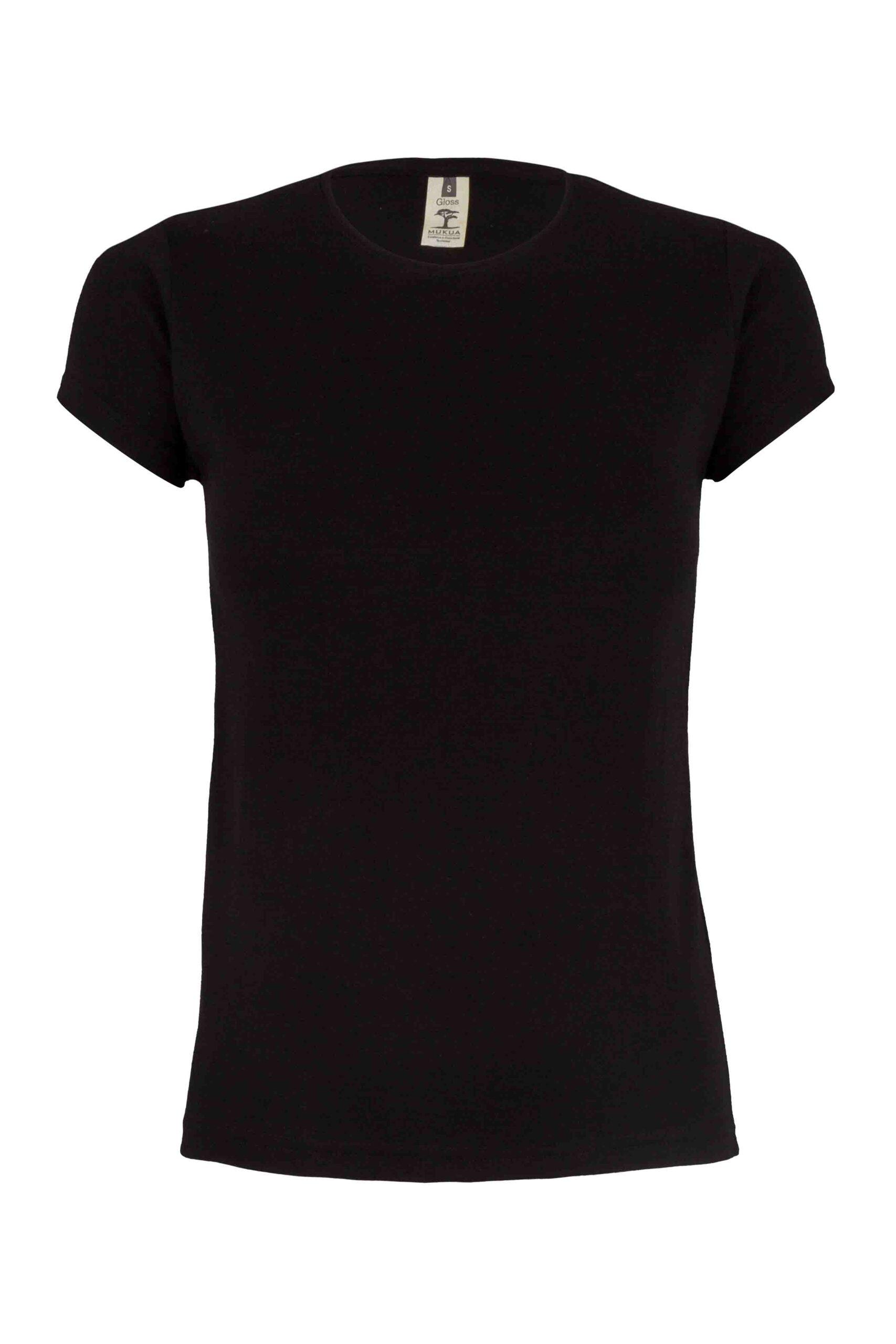 Mukua Mk170cv Camiseta Manga Corta 130gr Black
