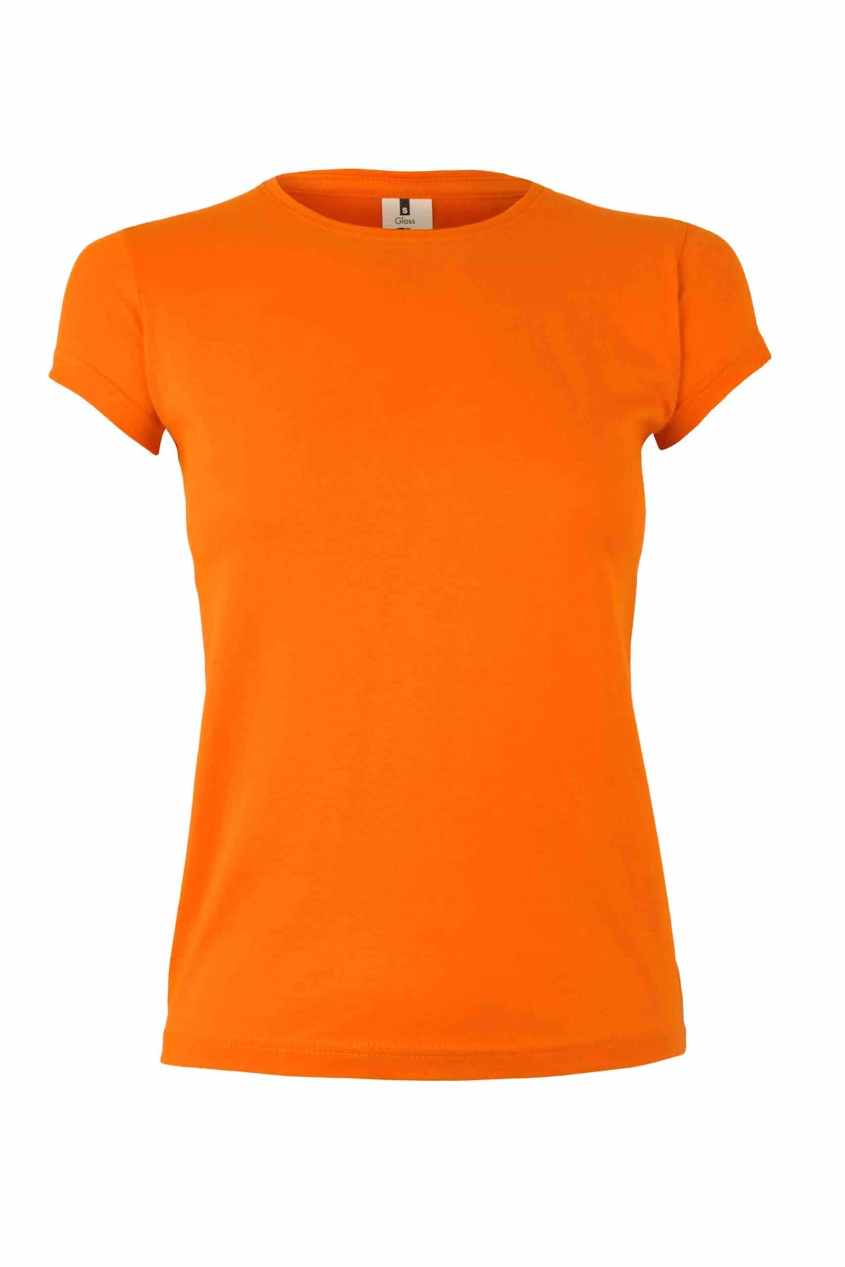 Mukua Mk170cv Camiseta Manga Corta 130gr Orange