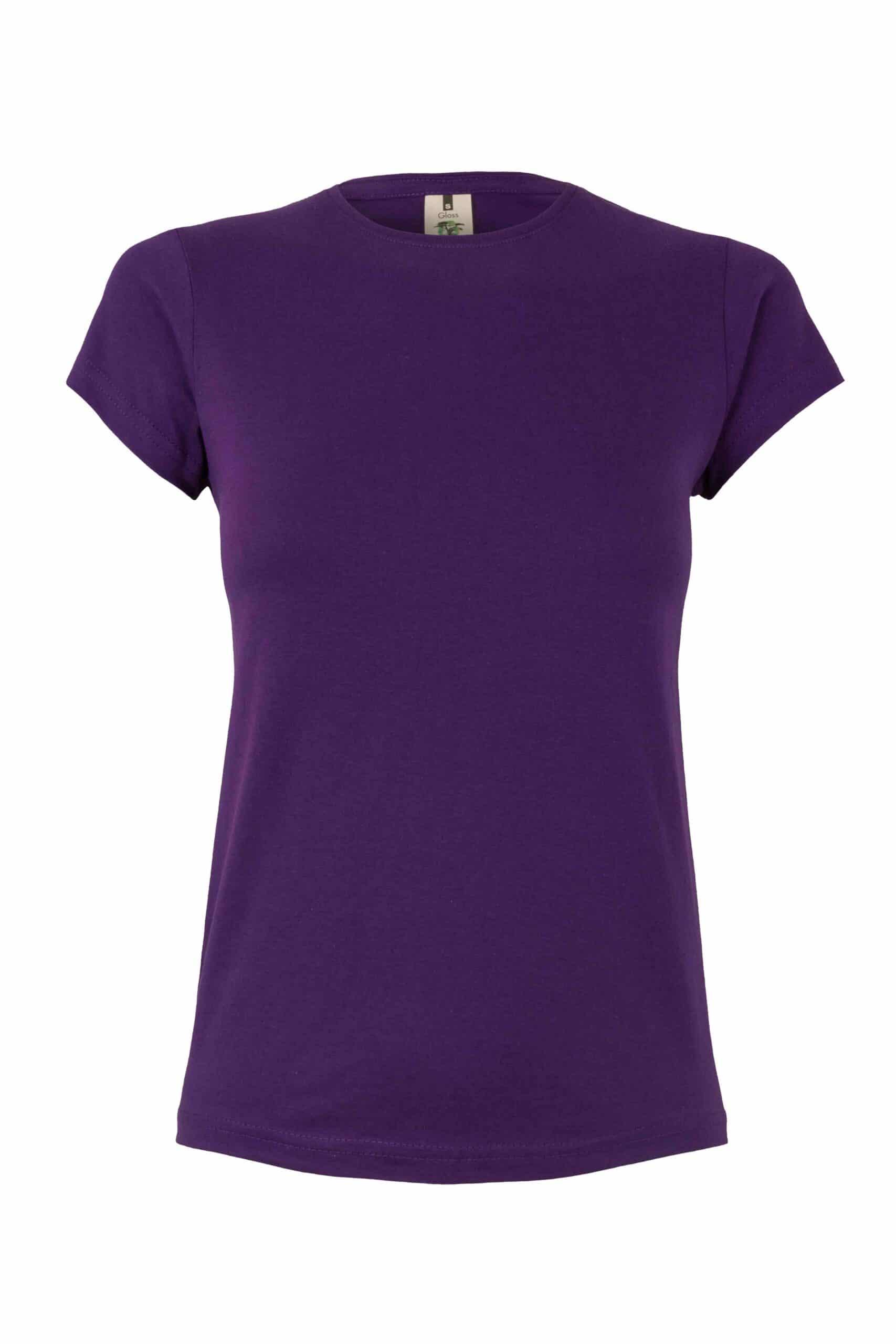 Mukua Mk170cv Camiseta Manga Corta 130gr Purple