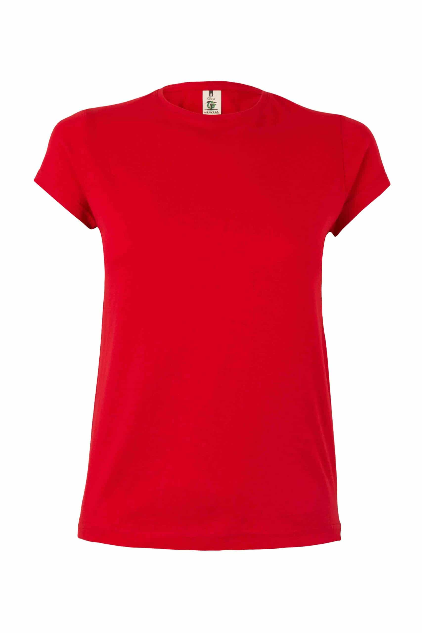 Mukua Mk170cv Camiseta Manga Corta 130gr Red