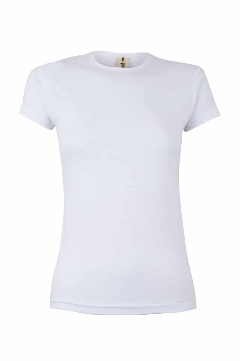 Mukua Mk170wv Camiseta Manga Corta 130gr White