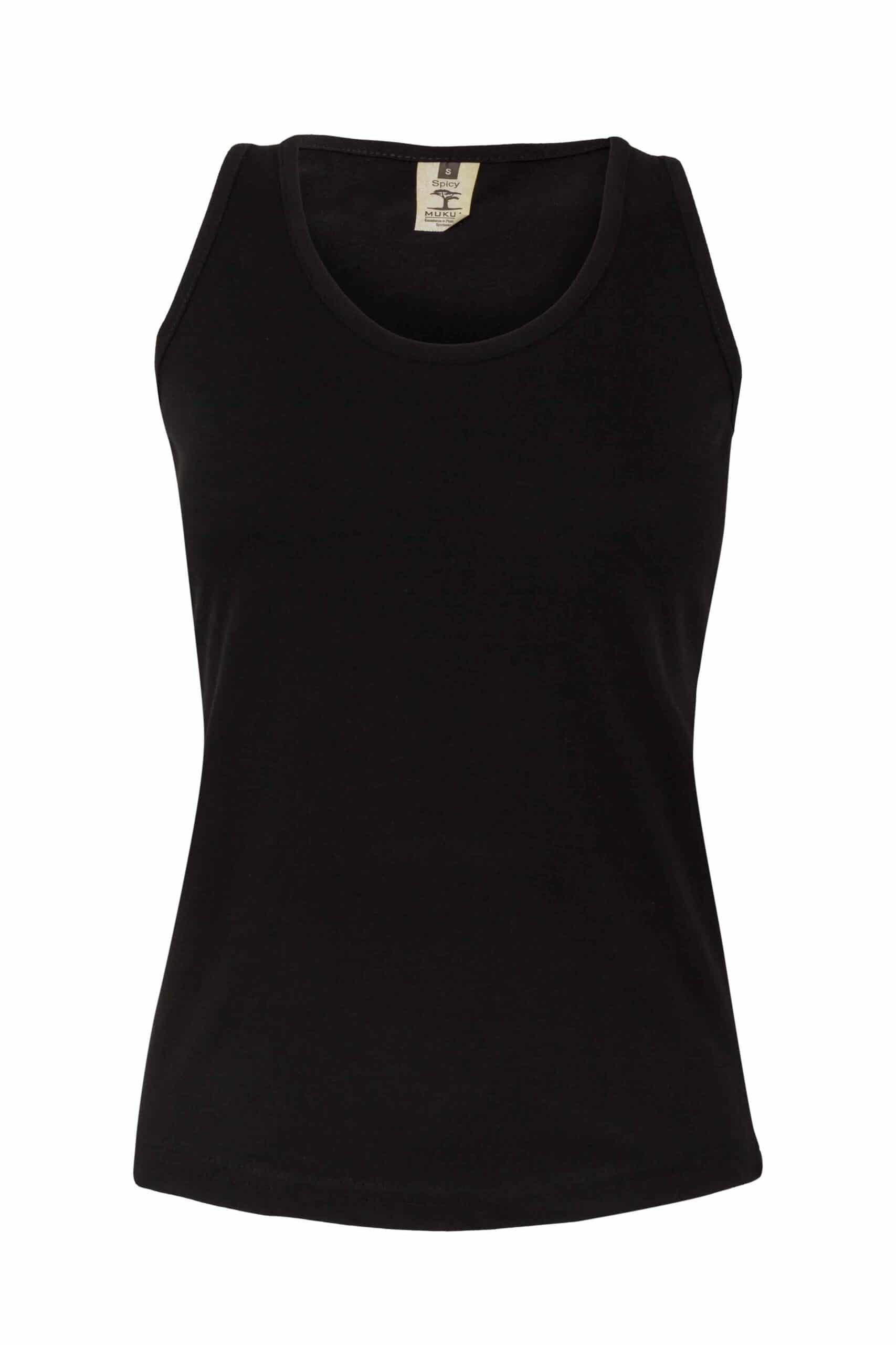Mukua Mk171cv Camiseta Tirantes Mujer 150gr Black