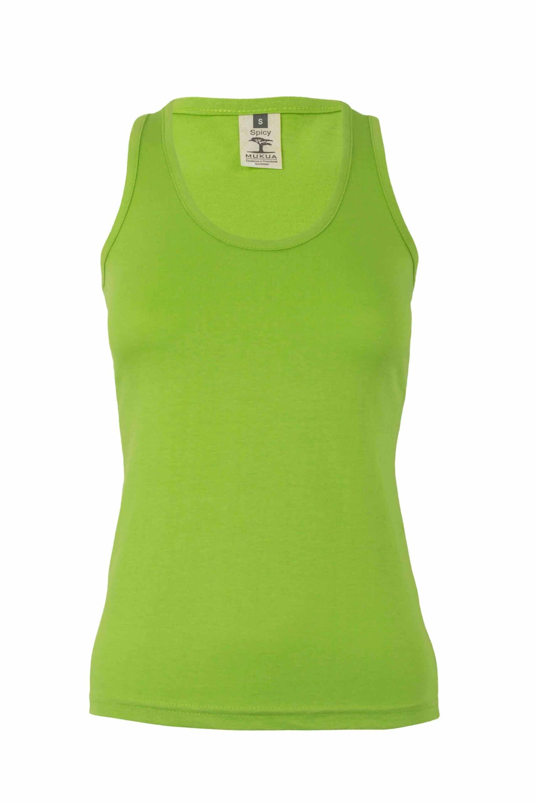 Mukua Mk171cv Camiseta Tirantes Mujer 150gr Lime