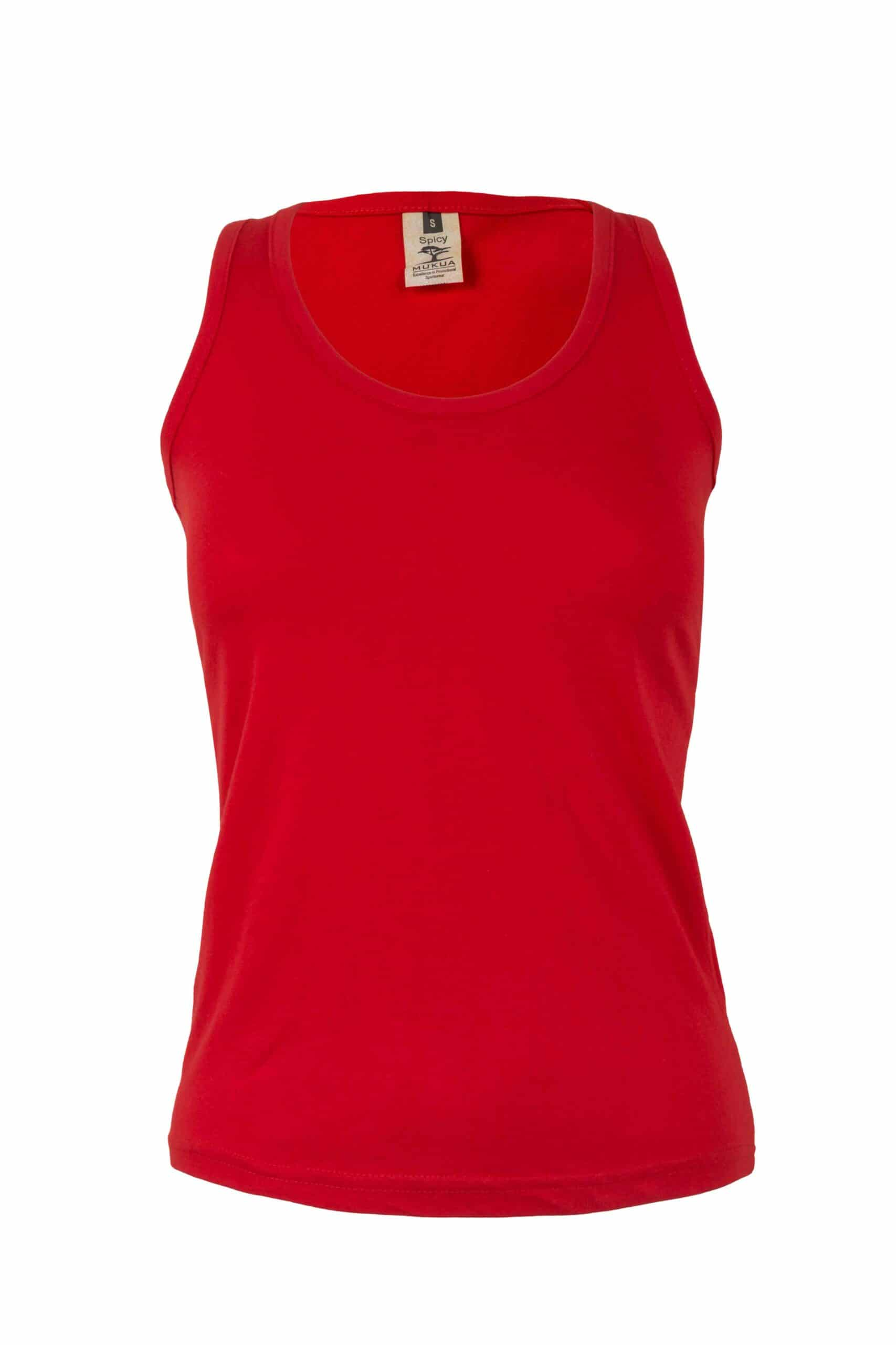 Mukua Mk171cv Camiseta Tirantes Mujer 150gr Red