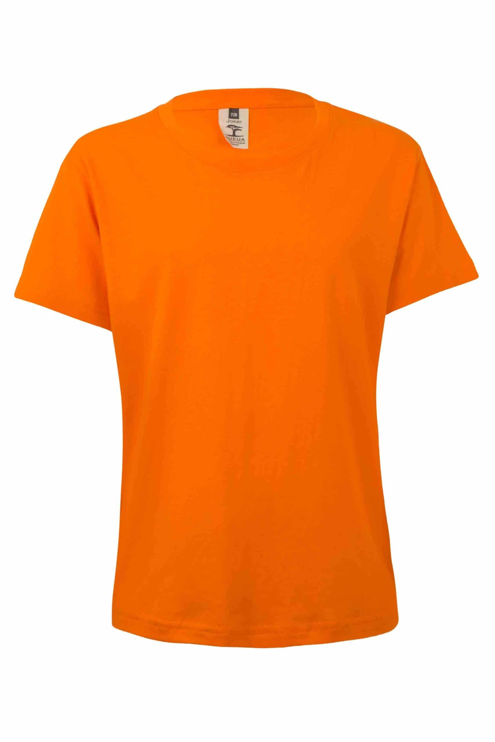 Mukua Mk175cv Camiseta Manga Corta NiÑo Orange
