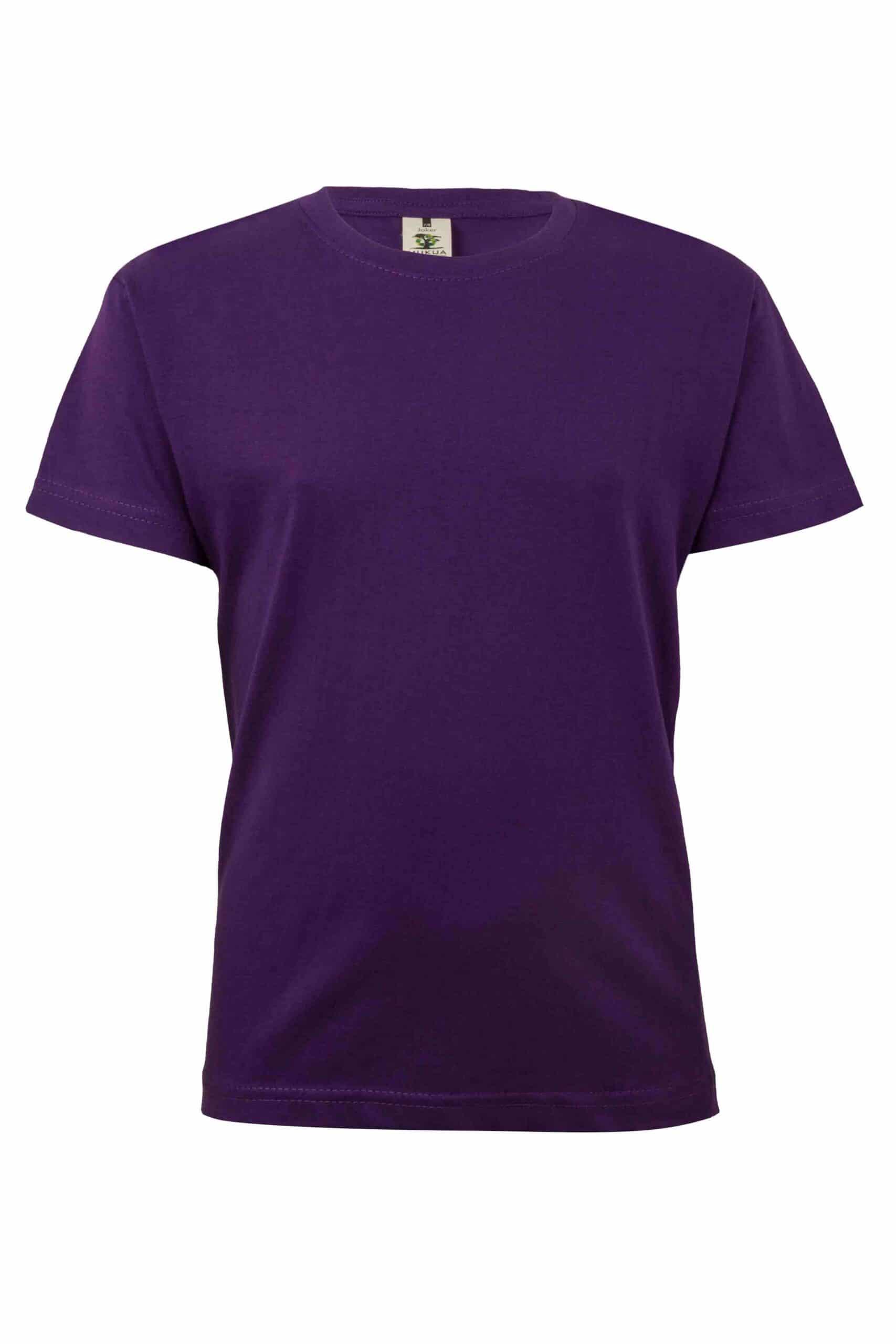 Mukua Mk175cv Camiseta Manga Corta NiÑo Purple