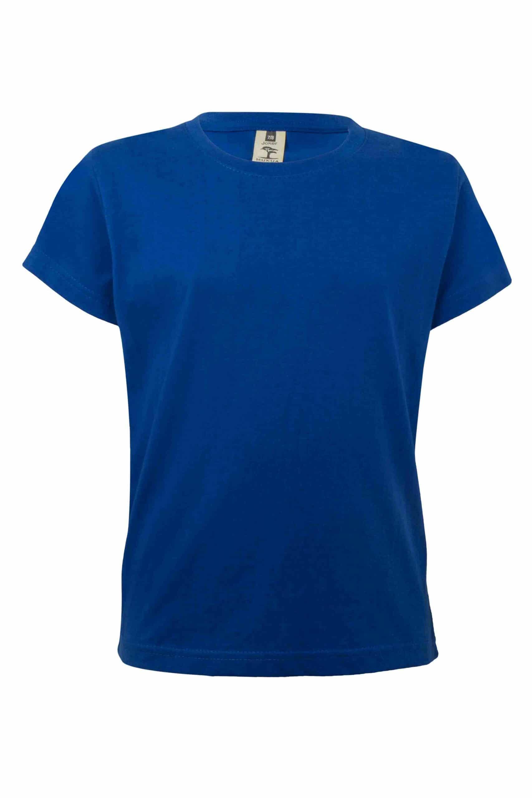 Mukua Mk175cv Camiseta Manga Corta NiÑo Royal Blue