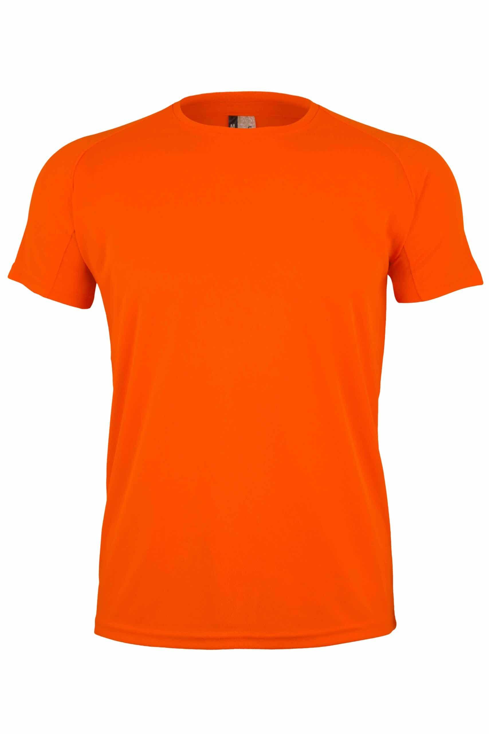 Mukua Mk520v Camiseta TÉcnica Manga Corta FlÚor Orange