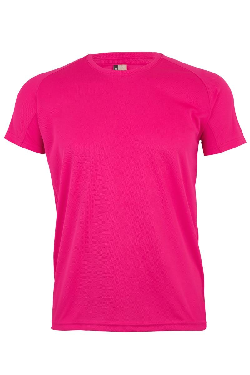 Mukua Mk520v Camiseta TÉcnica Manga Corta FlÚor Pink