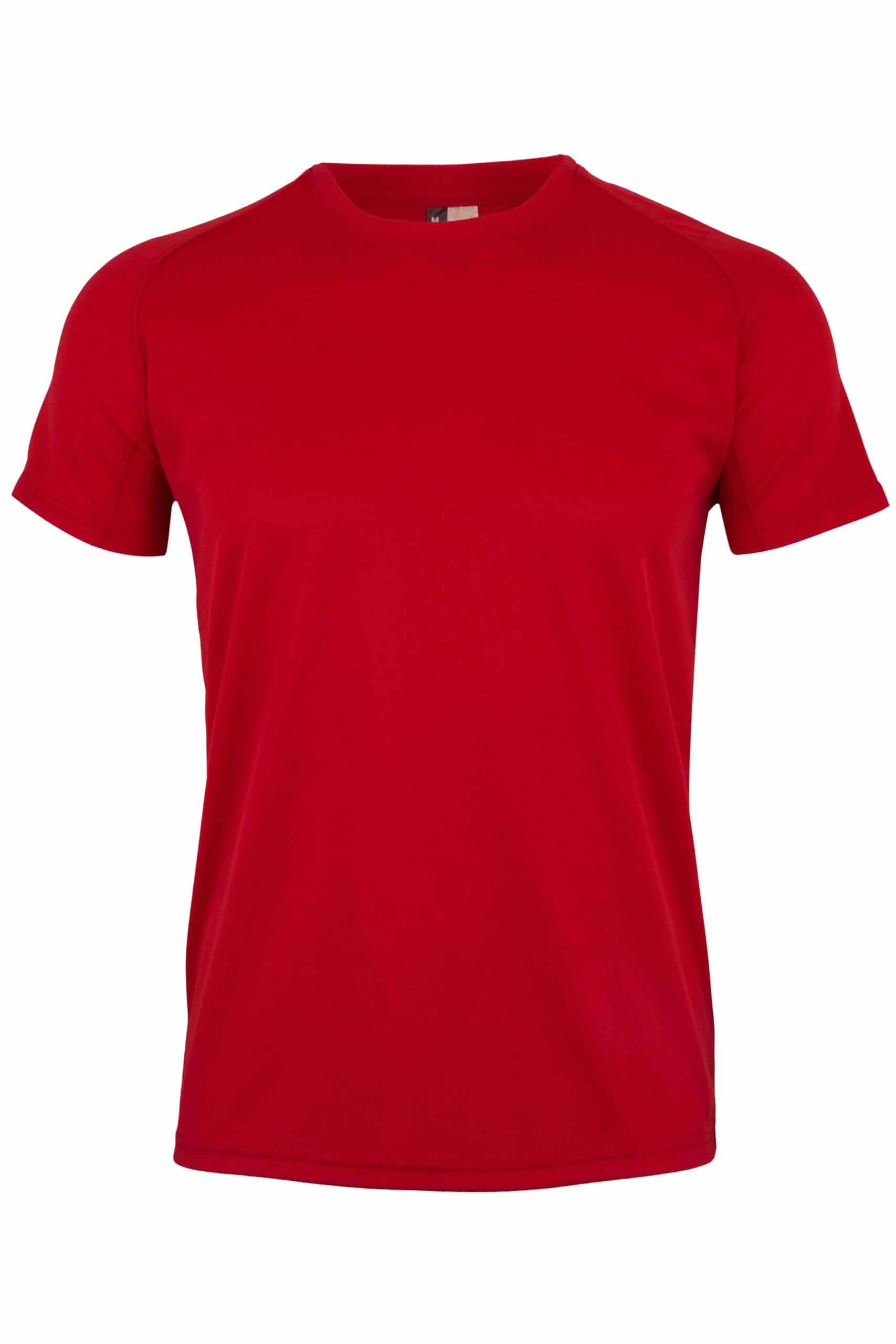 Mukua Mk520v Camiseta TÉcnica Manga Corta Red