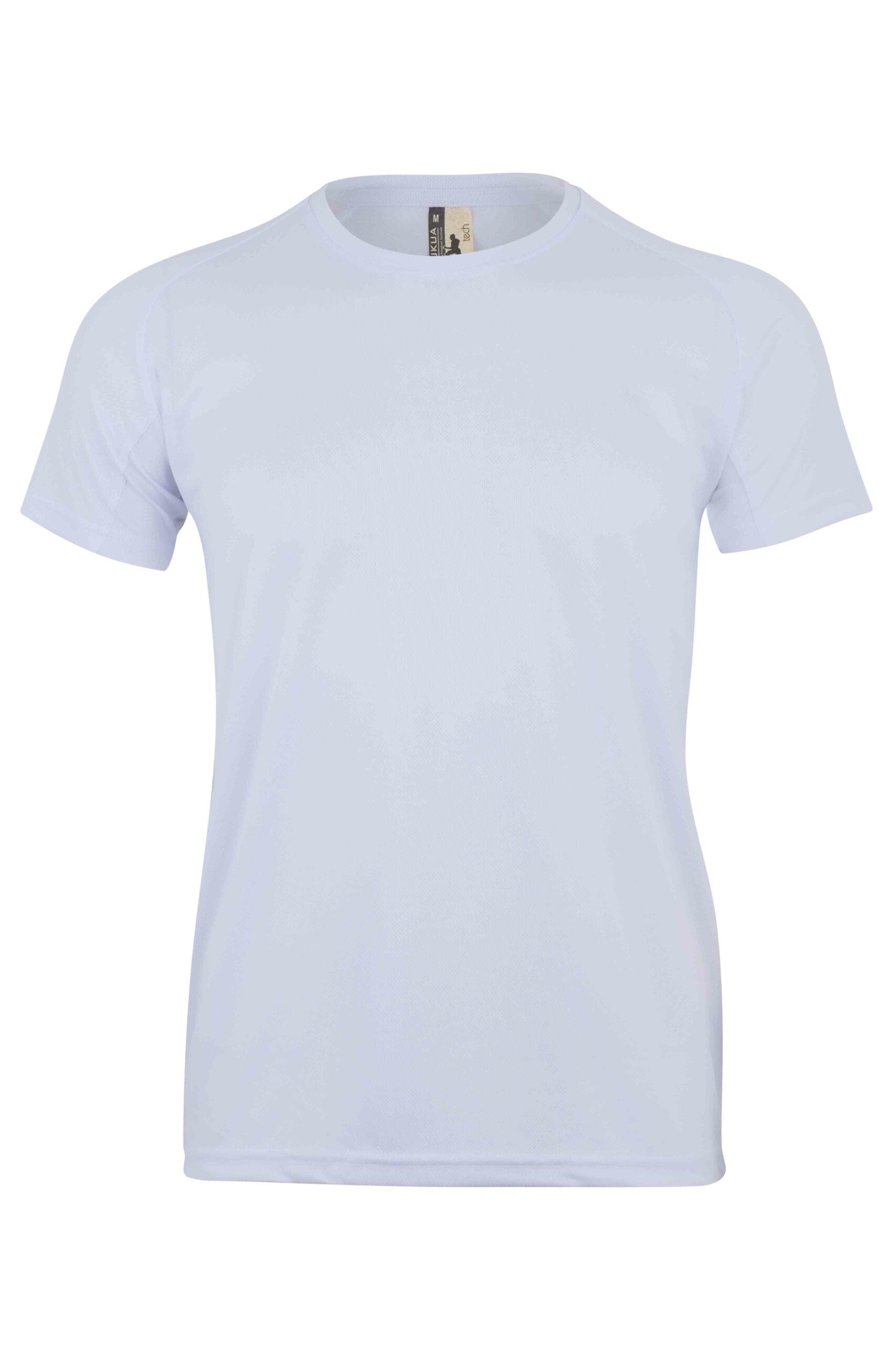 Mukua Mk520v Camiseta TÉcnica Manga Corta White
