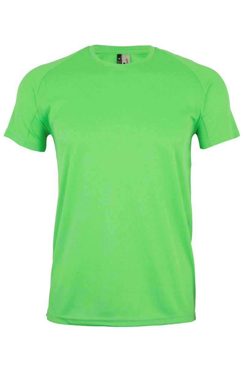 Mukua Mk521v Camiseta TÉcnica Manga Corta NiÑo Lime FlÚor