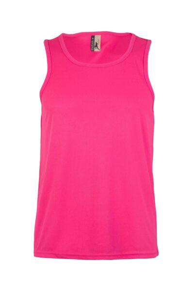 Mukua Mk525v Camiseta TÉcnica Tirantes FlÚor Pink